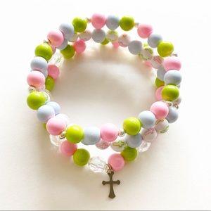 Cross Bracelets, Beaded Bracelets for Women